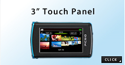 "3"" Touch Panel"